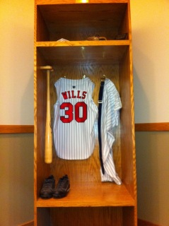 Maury Wills Locker - Newman Outdoor Field - Fargo, ND