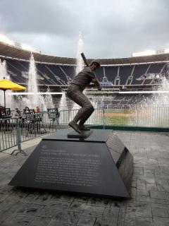 George Brett Statue - Kauffman Stadium - Kansas City