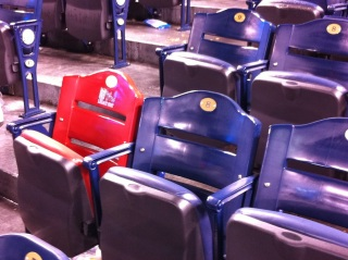 Buck O'Neil Legacy Seat - Kauffman Stadium - Kansas City